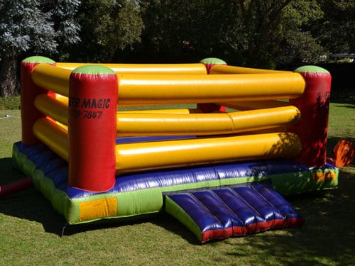Hire Closed Boxing Ring Jumping Castle