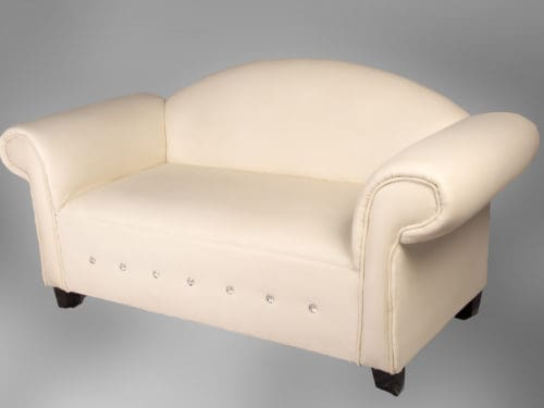 Hire Domed-top 2-seater couches