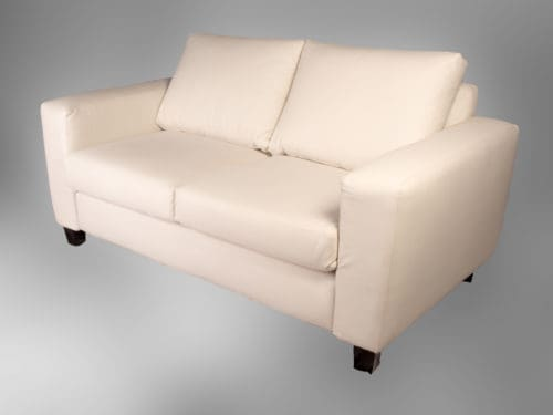 Hire flat-top 2-seater couches